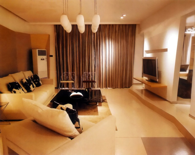居室设计--阳光100西区国际样板间第2张图片