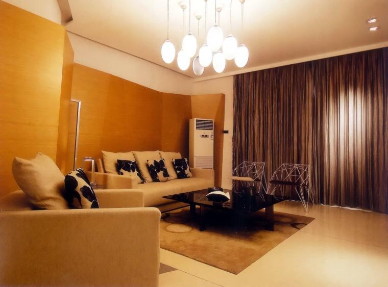 居室设计--阳光100西区国际样板间第3张图片