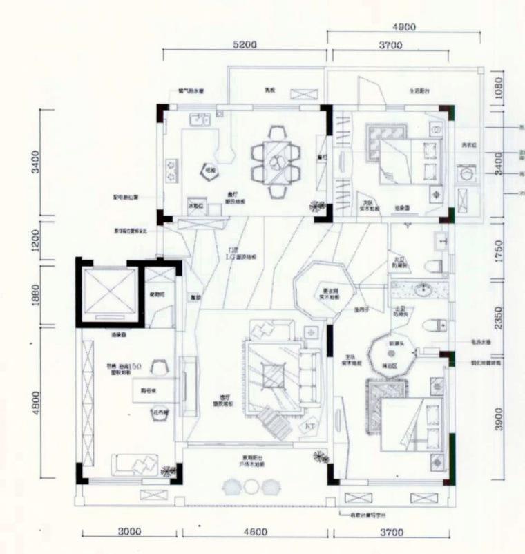 居室设计--阳光100西区国际样板间第11张图片