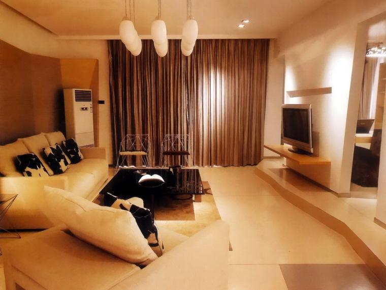 居室设计--阳光100西区国际样板间第1张图片