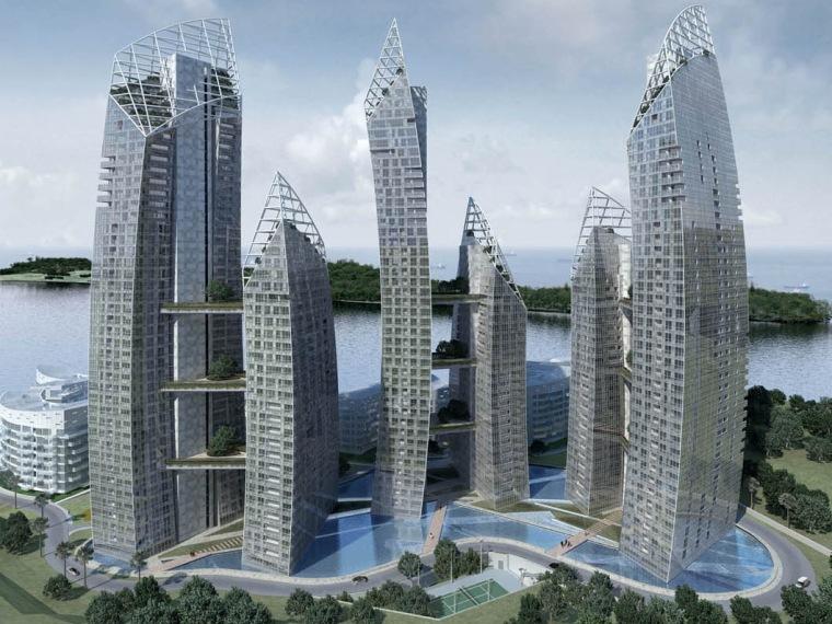 新加坡吉宝湾Reflections住宅