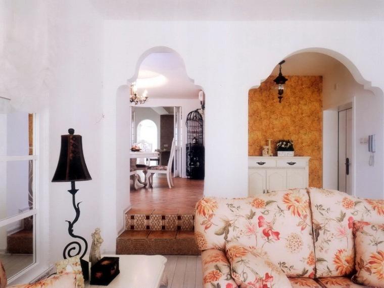 居室设计--欧式田园混搭--地中海