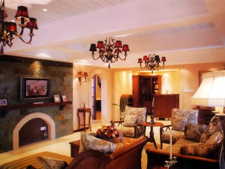 居室设计--世纪锋元--美式乡村风