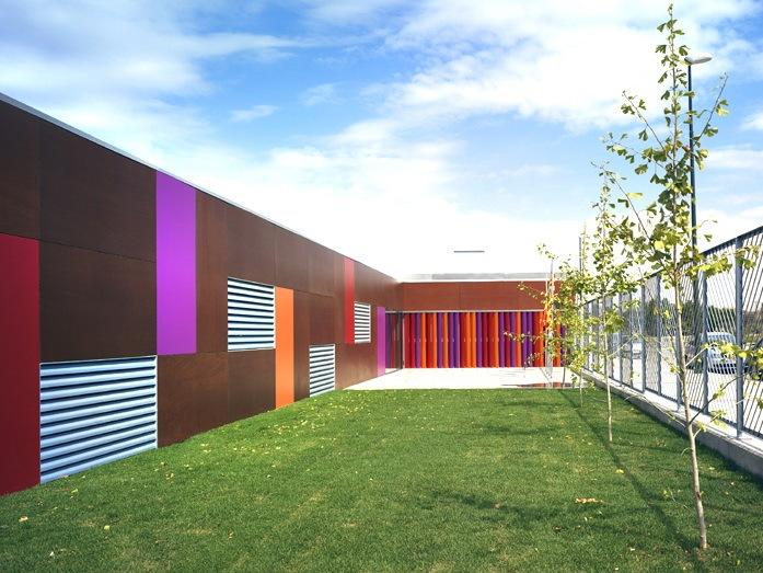 U模型幼儿园资料下载-Rosales del 运河幼儿园