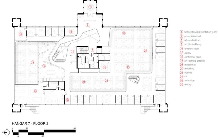 平面图02 floor plan 02-表演捕捉工作室第14张图片