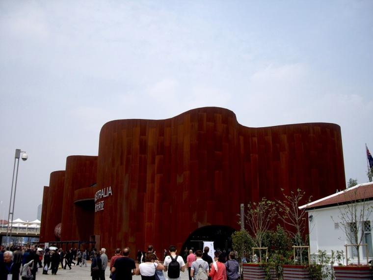 上海世博建筑摄影