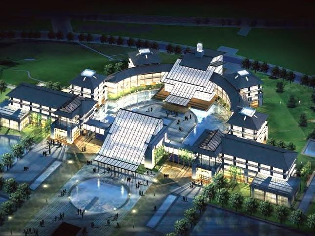 云南中医学院新校区总体规划设计