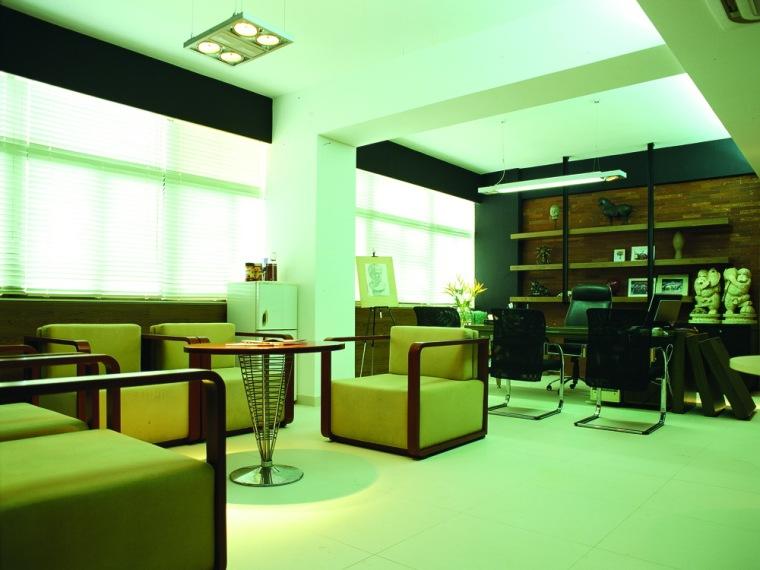 三原色建筑装饰设计院办公空间