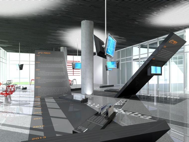 阿里巴巴滨江总部办公空间