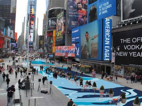 纽约时代广场重建项目