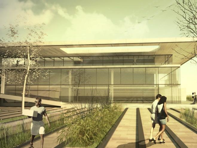 中东科技大学学生中心和公共广场设计方案