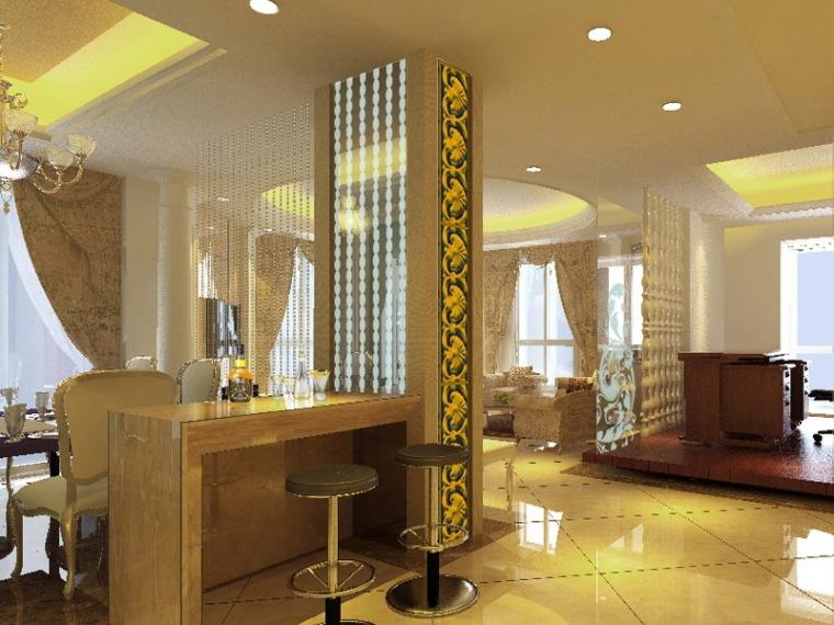 居室设计--现代欧式风格
