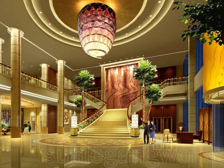 庆阳宾馆室内设计方案
