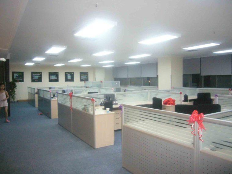 办公楼装修常州上家装潢实景图片