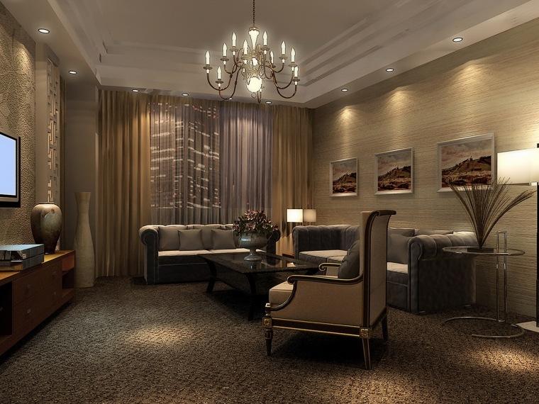 锡林浩特地矿大厦室内装饰设计方案