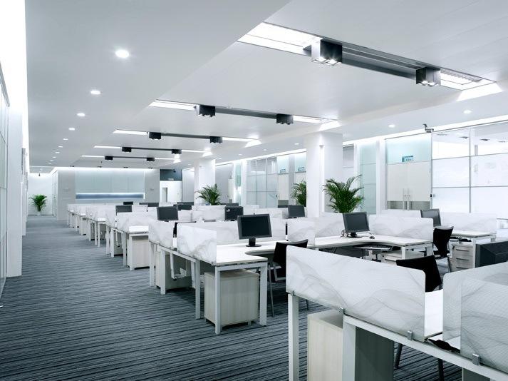 克拉玛依民营科技园科技中心装饰工程