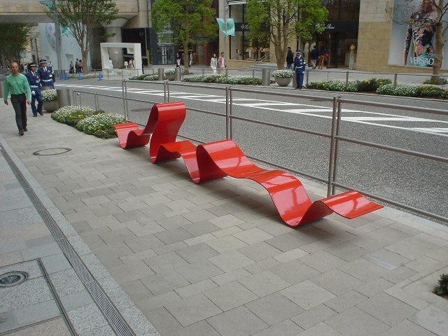 日本东京街道环境空间