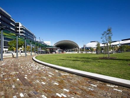 澳派悉尼奥林匹克公园Jacaranda广场景观设计