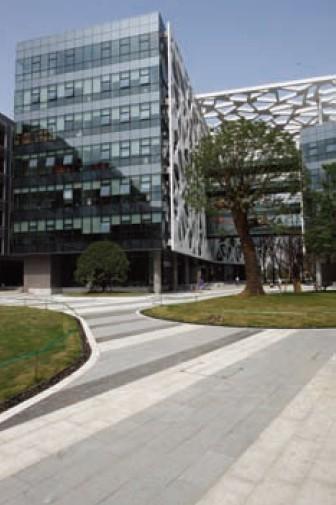 18 HASSELL公司设计的办公楼建筑-阿里巴巴杭州总部办公大楼第19张图片