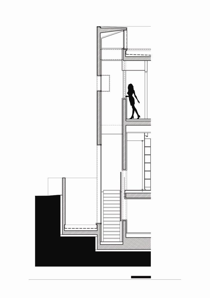 楼梯细节 staircase detail-阿哈罗尼住宅第30张图片