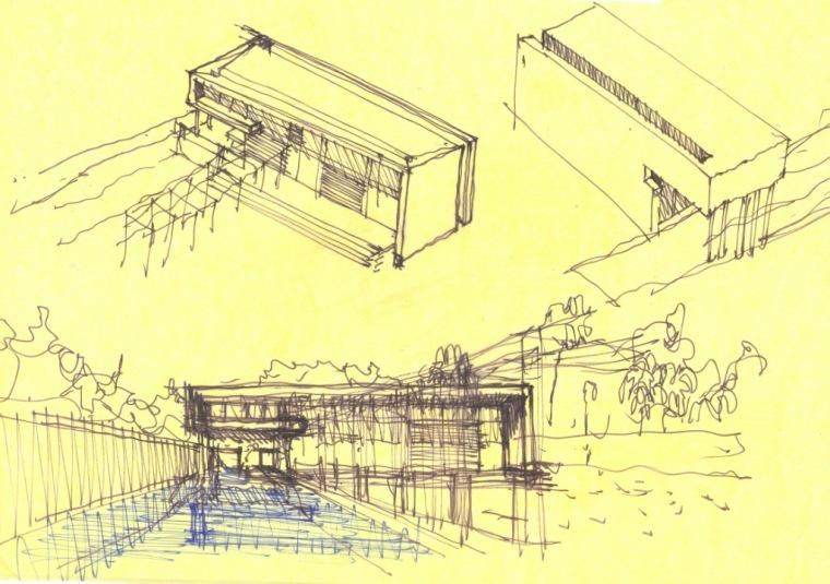图表04 drawing 04-阿哈罗尼住宅第36张图片