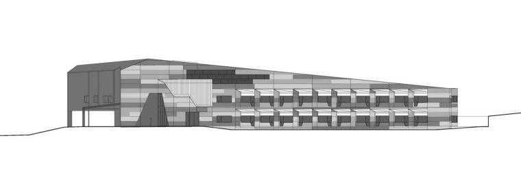 立面图 elevation-莫宁顿中心(养老院)第9张图片