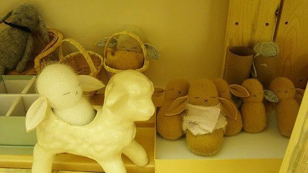 捧在手中暖暖的—手工编织兔子第4张图片