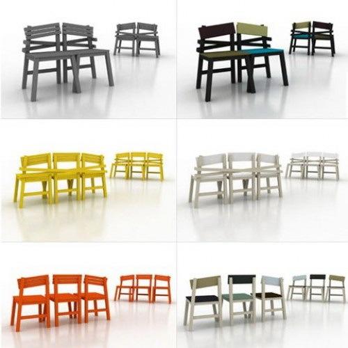LAT连体椅子集第10张图片