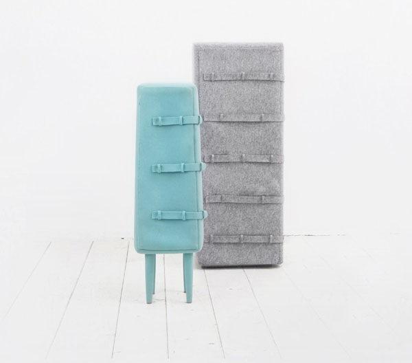 外衣质感的家具第3张图片