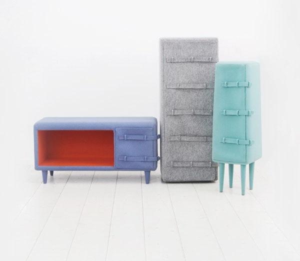 外衣质感的家具第4张图片