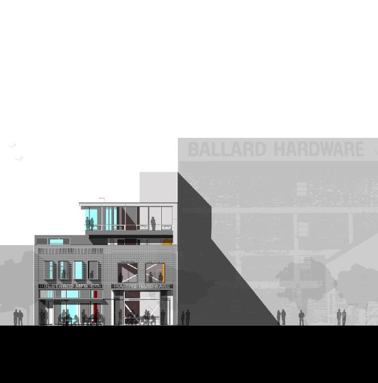 立面图 elevation-克罗斯坦德办公楼第18张图片