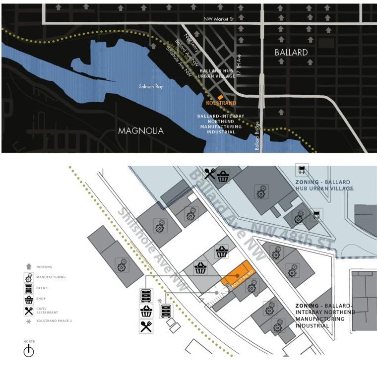 位置平面图 site plan-克罗斯坦德办公楼第22张图片