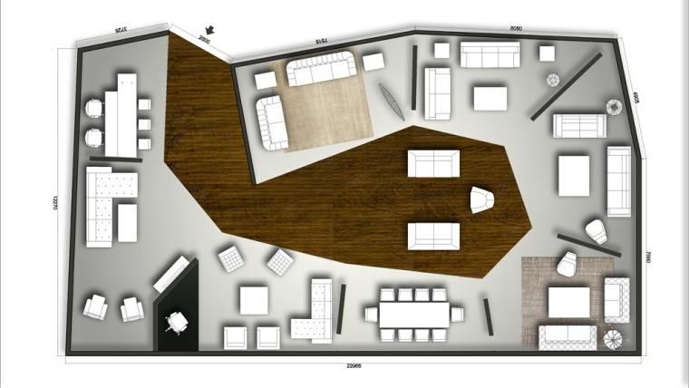 布局图 layout plan-WEDGE-1商务中心第16张图片