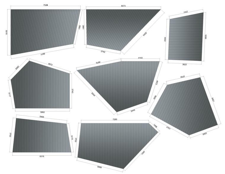 楼顶分割图 roof segments-WEDGE-1商务中心第21张图片