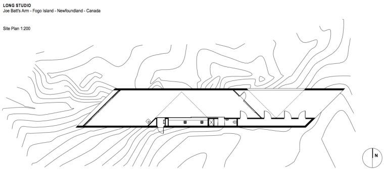 位置平面图 site plan-福戈岛工作室第28张图片