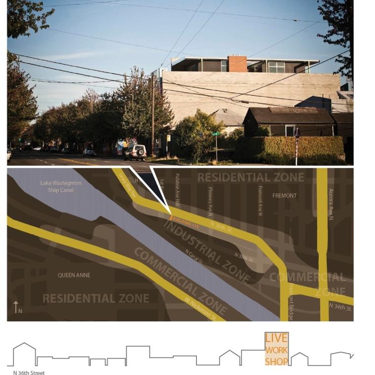 位置平面图 site plan-115综合楼第13张图片