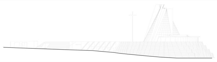立面图03 elevation03-圣乔斯马瑞艾斯奎瓦教堂第12张图片