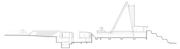 剖面图01 section01-圣乔斯马瑞艾斯奎瓦教堂第14张图片