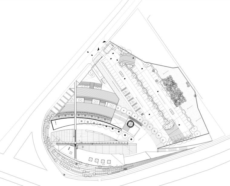 位置平面图02 site plan02-圣乔斯马瑞艾斯奎瓦教堂第20张图片