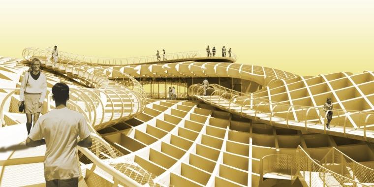 都市大阳伞第18张图片