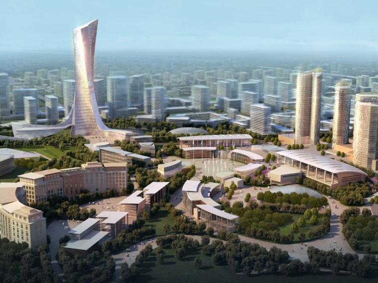 北京东坝北区规划设计