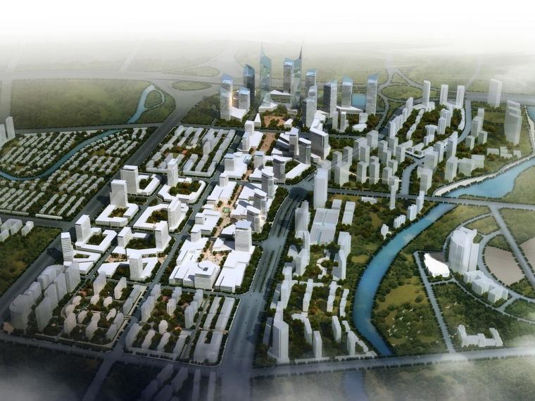 哈尔滨市松北区金融商贸中心城市设计第1张图片