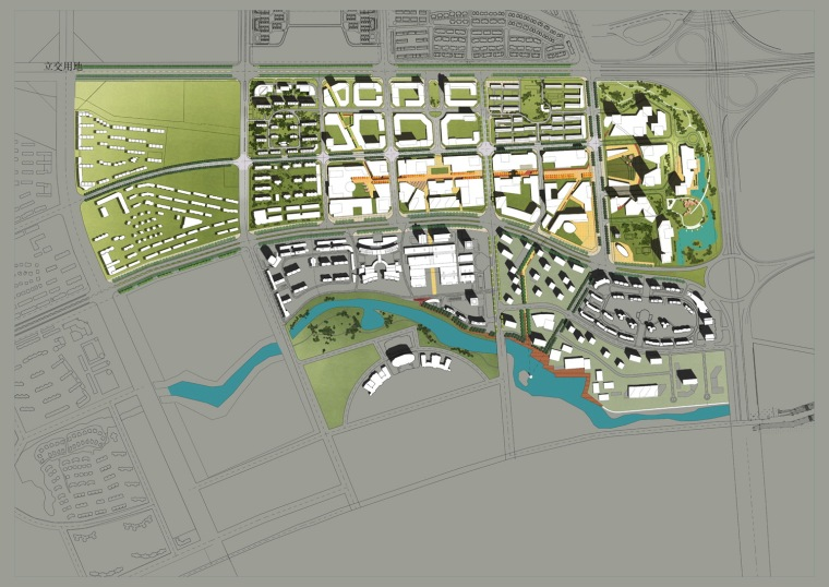 哈尔滨市松北区金融商贸中心城市设计第3张图片