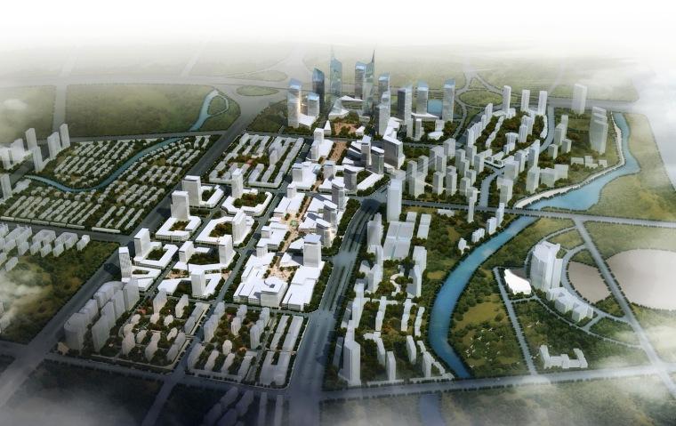 哈尔滨市松北区金融商贸中心城市设计第4张图片