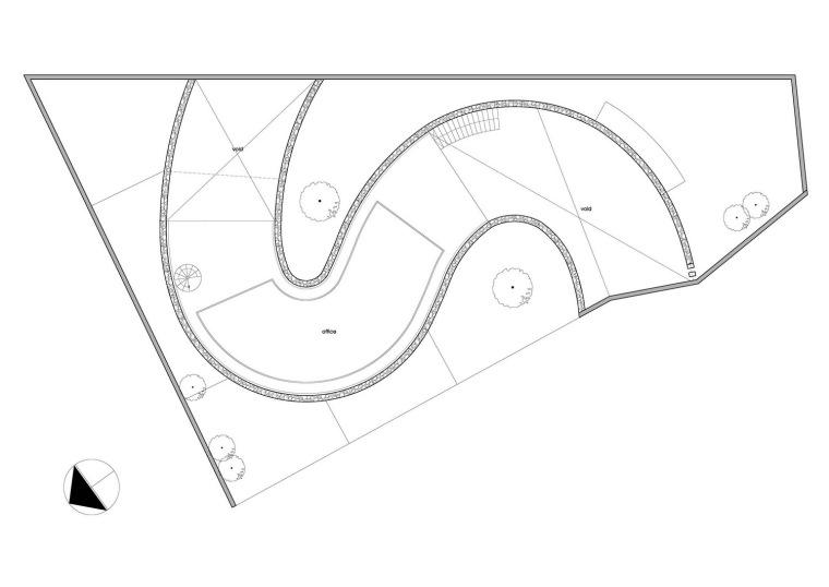 平面图 plan-岩石办公室第24张图片