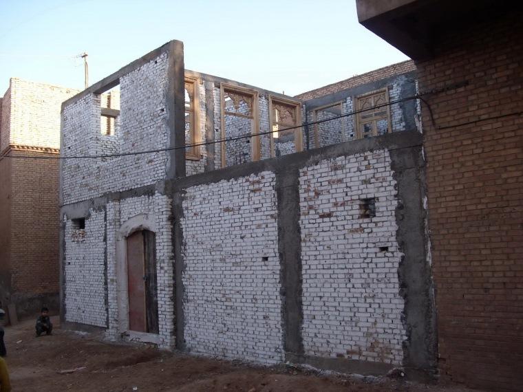 喀什老城区阿霍街坊保护改造