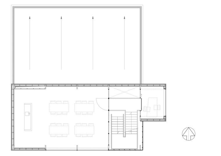 二层平面图 first floor plan-霍滕消防站第9张图片