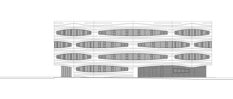 赫德利•布尔中心-立面图 elevation-赫德利•布尔中心第11张图片