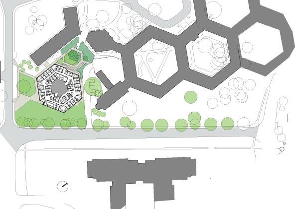 赫德利•布尔中心-位置平面图 site plan-赫德利•布尔中心第15张图片