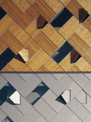 立面细部-韩国坡州三湖出版社第8张图片